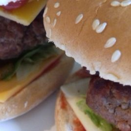 burgers avec accompagnement
