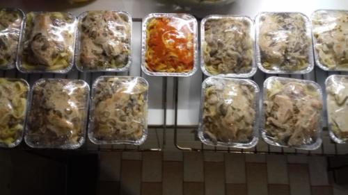 gamme de plats à emporter